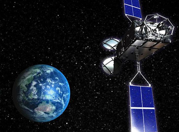 일본 우주 과학자들이 무선으로 전기를 보내는데 성공하다.