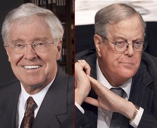 교황에게 기후 전문가들을 보내어 설득할 것이라는 코치(Koch) 형제