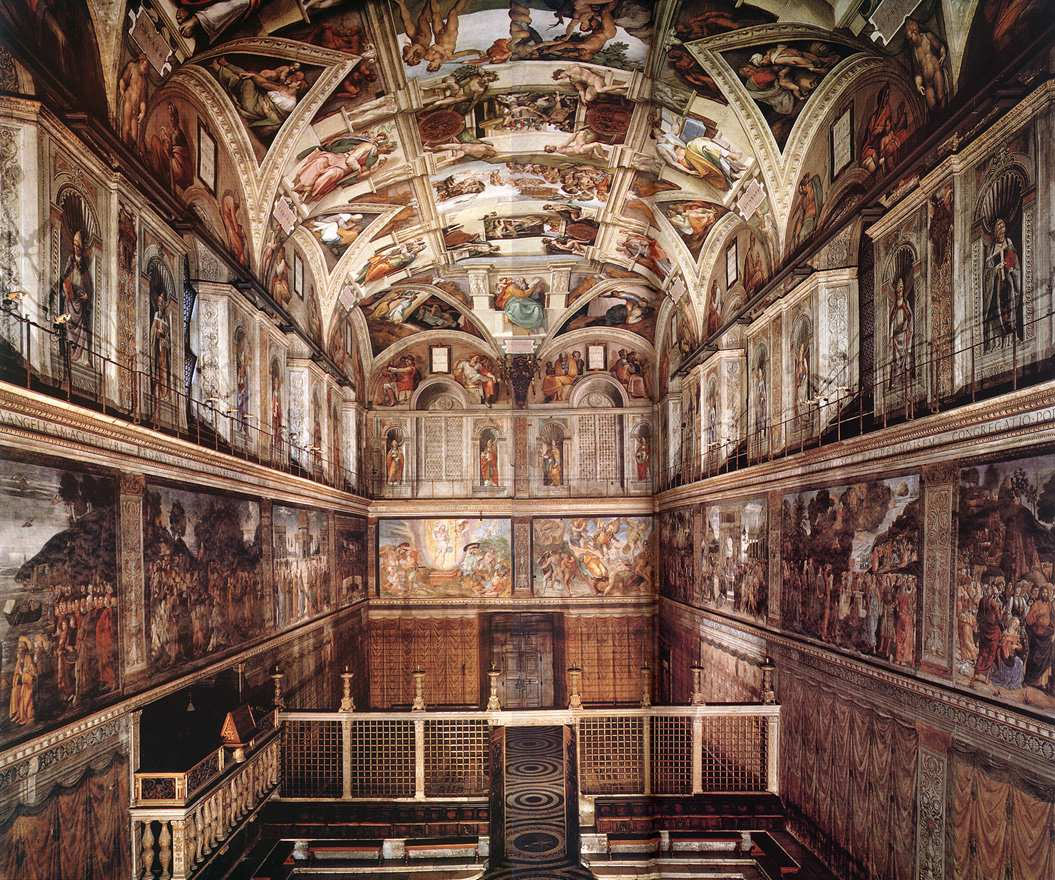 시스티나 성당에 숨겨놓은 미켈란젤로의 메시지