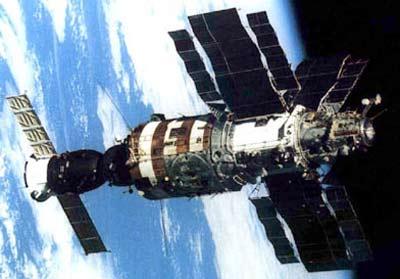 1984년에 우주 정거장에서 오렌지 빛과 천사를 목격한 러시아 우주인들.