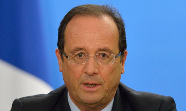 프랑스의 올랑드는 유로존 정부의 창설을 제안하다.