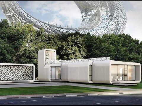 첫 번째 3D 사무실 건물이 두바이에 건설된다.