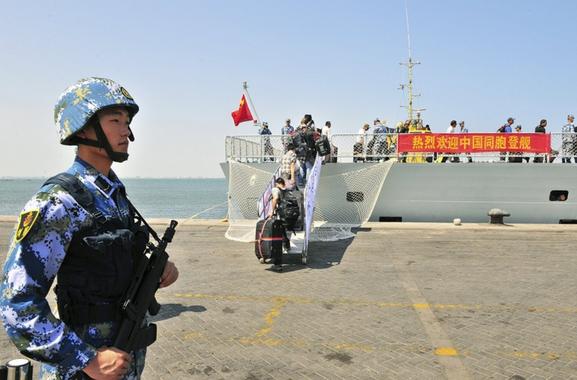 중국은 시리아에 파병을 하는가?