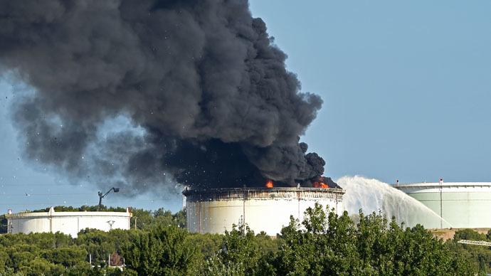 화학 공장 폭발이 이번에는 프랑스 남부에서 발생하다.