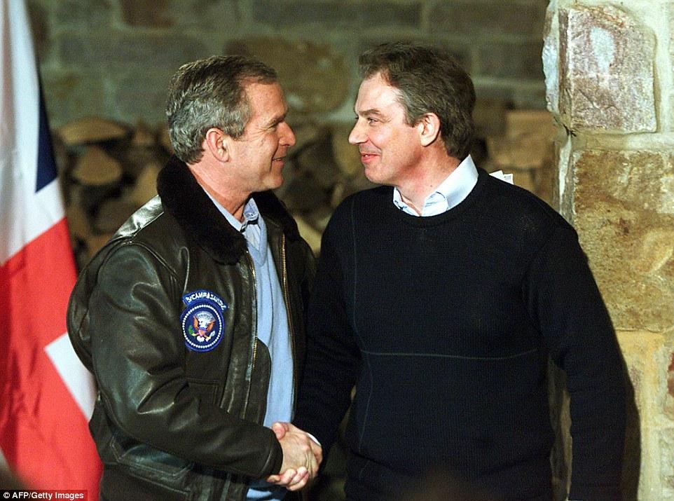 백악관 메모는 부시와 블래어가 이라크 전쟁 1년 전에 공모했음을 드러내다.