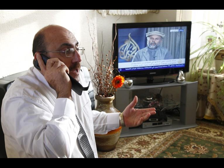 서방 언론이 인용하는 '시리아 인권 관측소'를 러시아 언론이 방문하다.