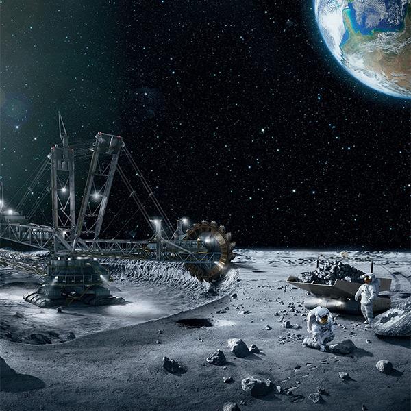 미 상원은 우주 채광을 허용하는 법안을 통과시켰다.