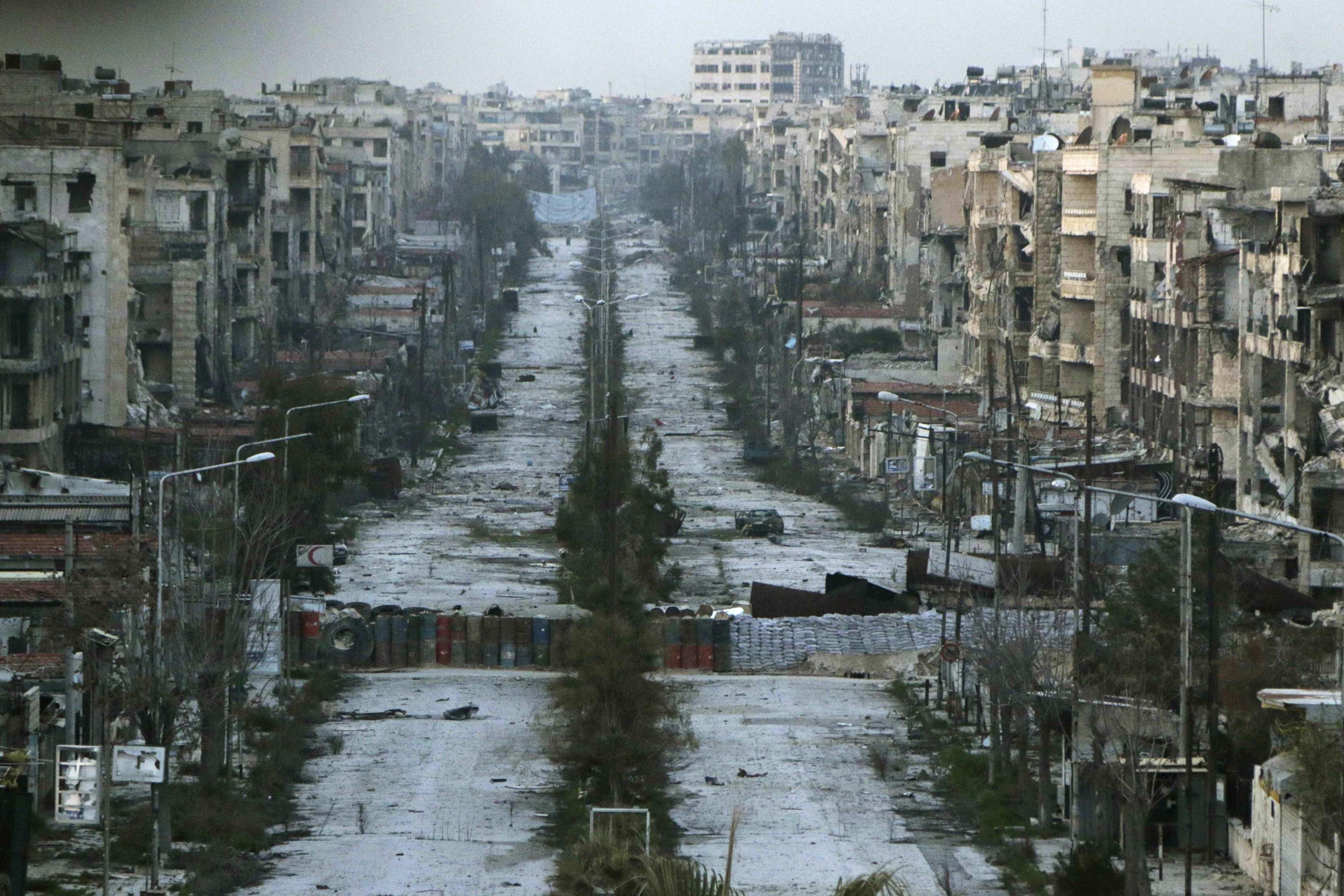 시리아에서 위장된 화학무기 공격을 경고한 러시아