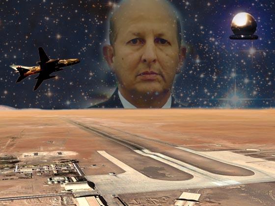 UFO를 공격하여 명중시킨 오스카 산타 마리아 우에르타