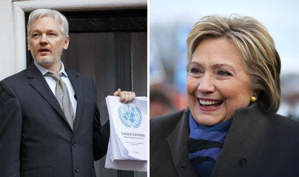 힐러리는 어센지를 드론으로 공격할 것을 제안했다.