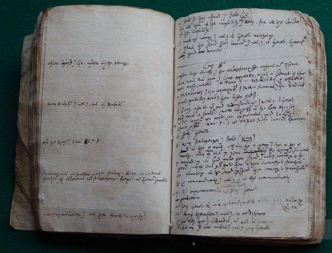 역사상 가장 오래된 킹 제임스 성경 원고가 발견되다.