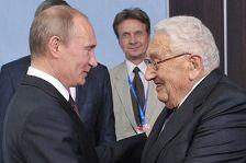 헨리 키신저와 푸틴이 만나다.