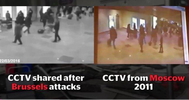 브뤼쉘 공항 폭탄 테러의 의문점