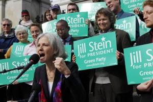 녹색당 대선후보 질 스타인, '클린턴, 트럼프 모두 과두제의 일원일 뿐'