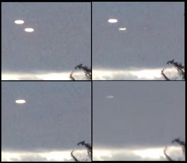 캐나다 온타리오에서 지난달 촬영된 UFO 영상