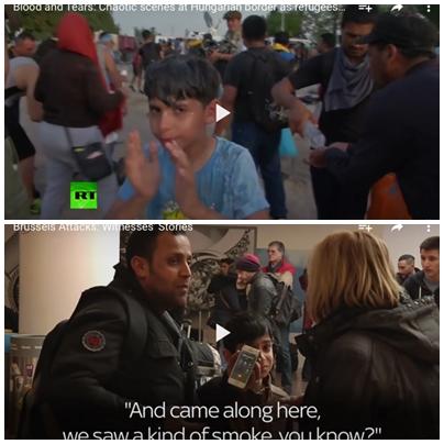 헝가리 국경에서 시리아 난민으로 보도된 소년이 브뤼셀 테러 현장에 등장하다?
