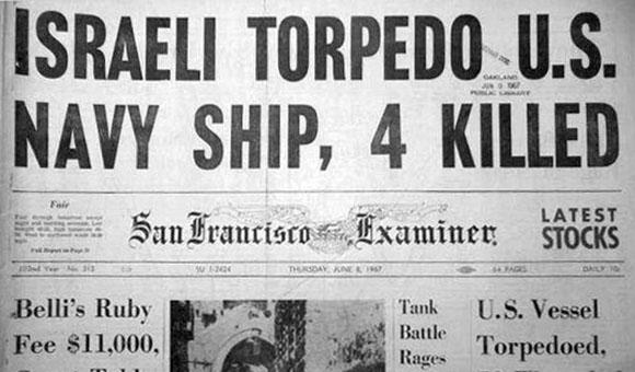 49년 전, 이스라엘은 위장 작전을 위해 미국 해군을 공격했다.