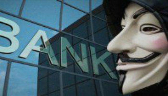 어나니머스가 미국 중앙은행을 해킹하여 소유주에 대한 파일을 획득하다.