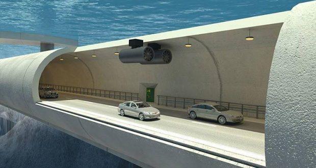 노르웨이는 세계 최초로 바다 속에 뜨는 도로를 건설한다.