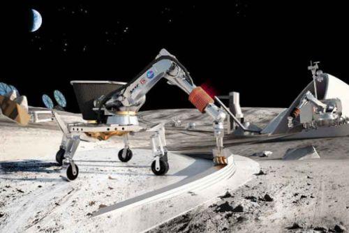 유럽과 중국이 달에 마을을 건설하는 데 합의했다.