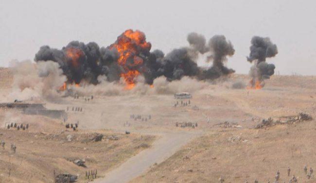 러시아 외교부, '미국은 시리아 군을 공격하여 IS를 보호한다'.
