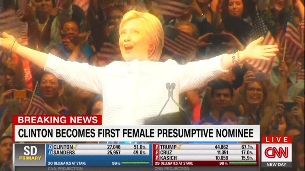 2020년 대선 재출마를 저울질하고 있는 힐러리 클린턴