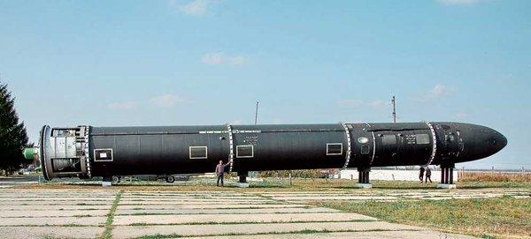러시아가 새로운 핵 미사일을 공개하다.