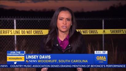 거짓 범죄 현장을 만들어 촬영한 미 ABC 뉴스