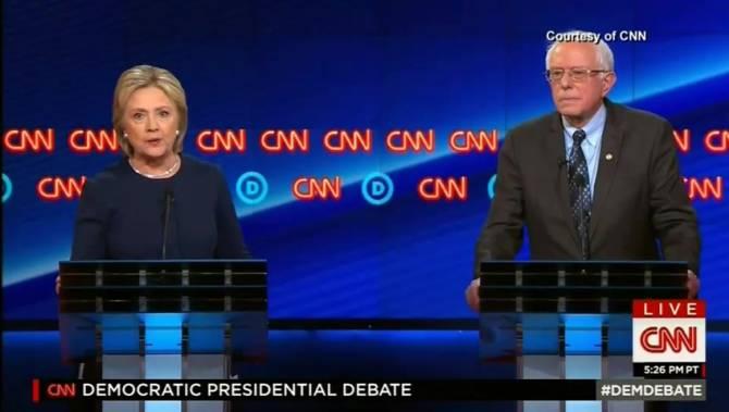 민주당 경선 TV 토론 질문이 미리 힐러리에게 전달되었다.