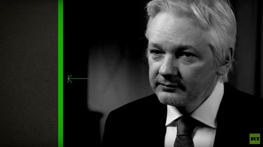 """어샌지, """"트럼프의 선거 승리는 허용되지 않는다"""""""