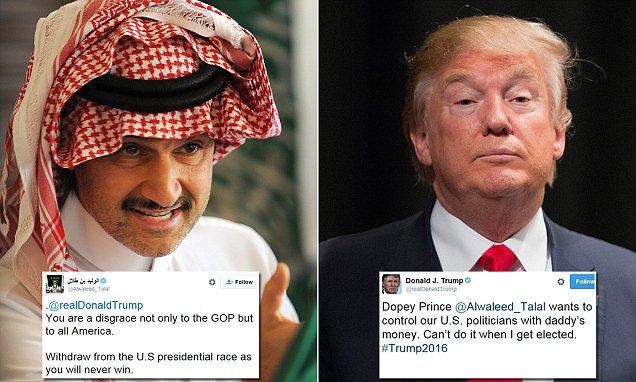 트럼프의 당선은 사우디 왕자의 생각을 바꿔 놓았다.