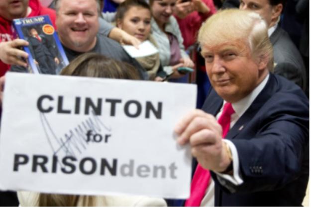 트럼프 행정부는 클린턴 재단에 기부한 외국 정부 스스로 사건을 조사하도록 압력을 행사한다.