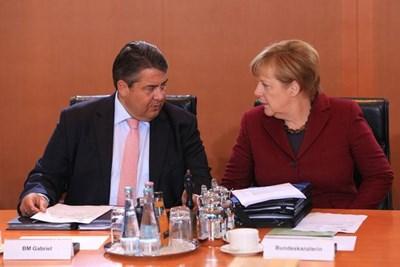 독일의 가브리엘 부총리는 EU의 해체가 더 이상 불가능하지 않다고 말한다.