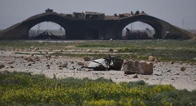 러시아는 UN의 동의와 조사가 선행되지 않은 미국의 시리아 공격을 비난한다.