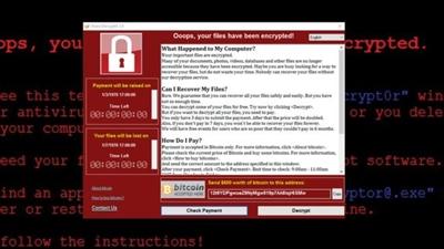 NSA의 해킹 도구를 이용한 랜섬웨어가 당신의 컴퓨터를 노린다.