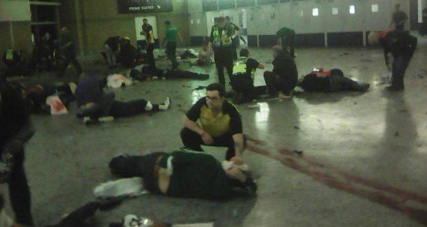 영국 맨체스터에서 열린 아리아나 그란데 공연에서 발생한 폭탄 테러