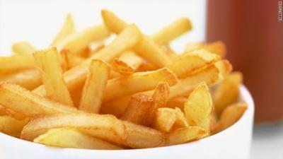 튀긴 감자 섭취가 높은 사망률과 관련있다는 연구가 발표되다.