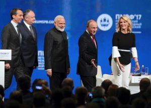 미국 NBC와의 인터뷰를 가진 러시아 대통령 푸틴