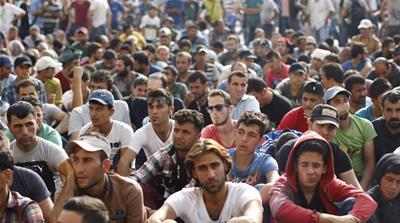 난민 수용에 대해 갈등을 빚고 있는 유럽연합