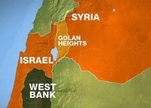 시리아의 골란고원에 대한 이스라엘의 자주권을 인정한 트럼프