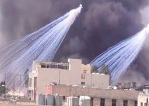 시리아에서의 IS 패배와 미국 연합군의 백린탄 사용