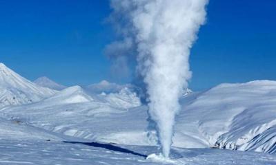 백 개에 가까운 화산들이 남극의 얼음 밑에서 발견되다.