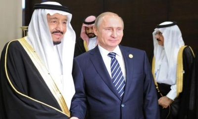 러시아와 사우디 아라비아의 협력과 도전받는 미국 달러