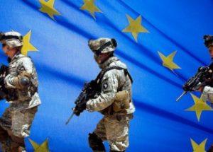 유럽연합군 창설에 서명한 23개의 EU 회원국들