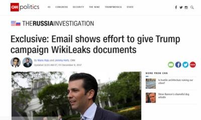 러시아 게이트에 대한 가짜 뉴스를 보도한 주류 언론의 잇따른 사과문