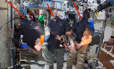 다시 논란이 되고 있는 국제우주정거장 영상