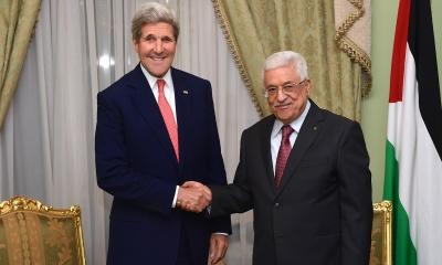 예루살렘포스트, '케리 전 국무장관이 팔레스타인에 평화협상에 나서지 말 것을 주문했다'