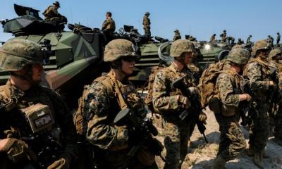 중국의 견제를 위해 극동 지역으로 특수해병부대의 파병을 고려 중인 미국