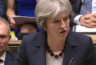 23명의 러시아 외교관 추방을 발표한 영국의 메이 총리