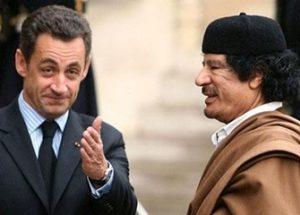리비아로부터 받은 대선 자금 조사를 받고 있는 사르코지 전 프랑스 대통령